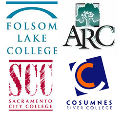 various community college logos